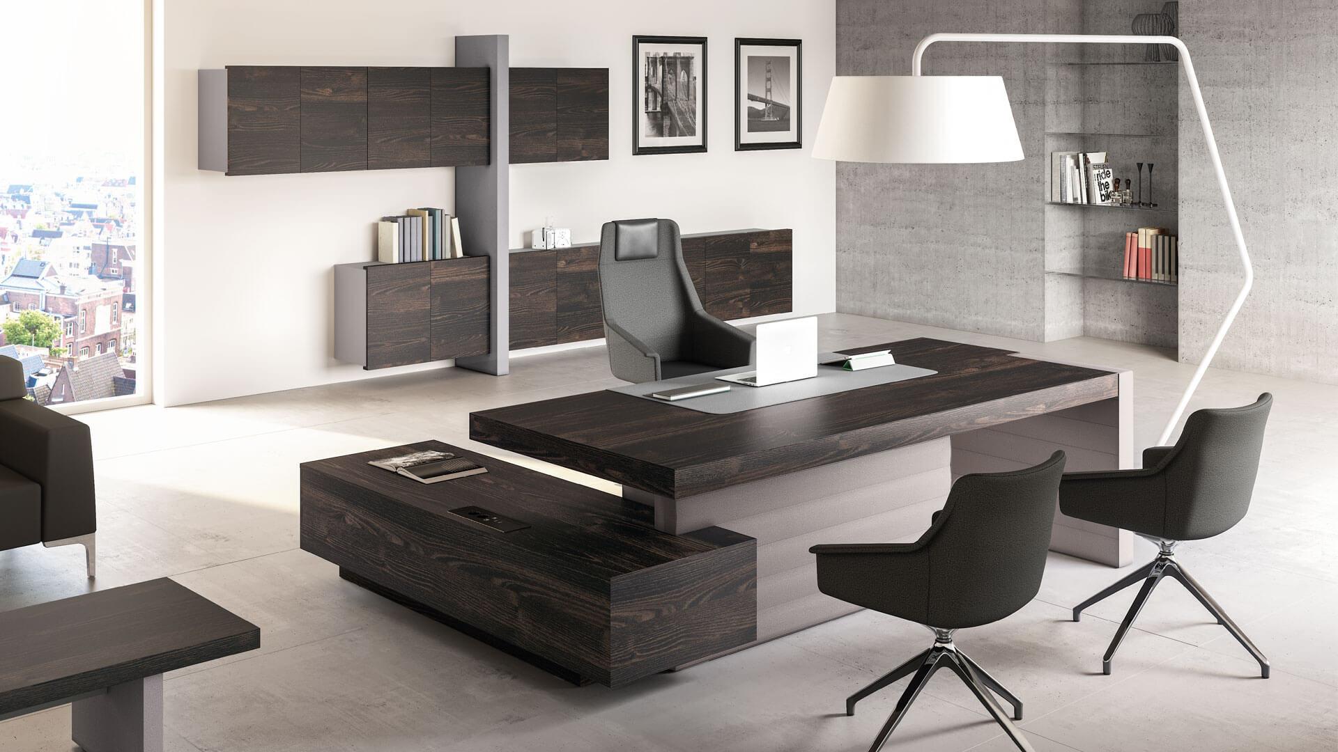 Meble gabinetowe las nowoczesne i eleganckie duncan for Combinacion de colores para oficinas modernas