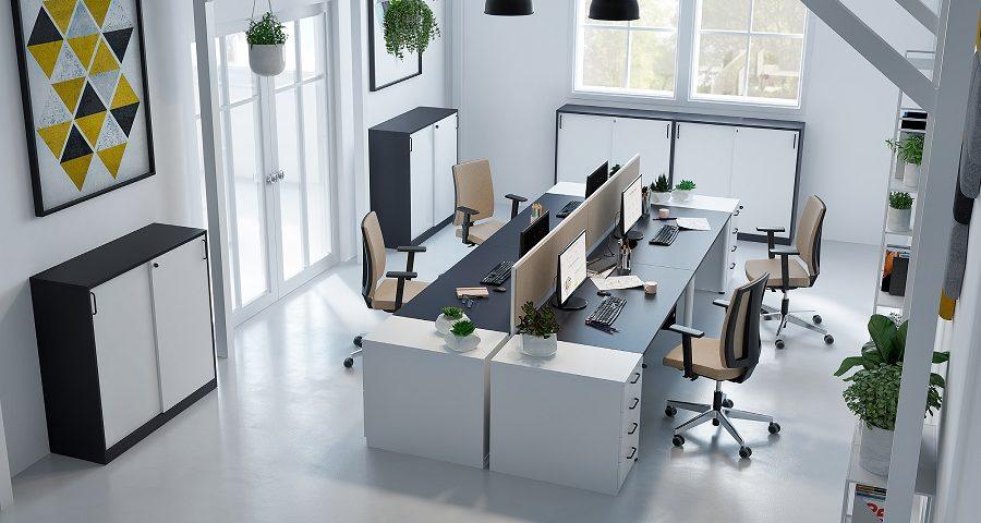 Jak poprawić ergonomię pracy w biurze – funkcjonalna przestrzeń biurowa
